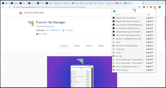 10 Best Chrome Tab Manager Extensions in 2019 | Beebom