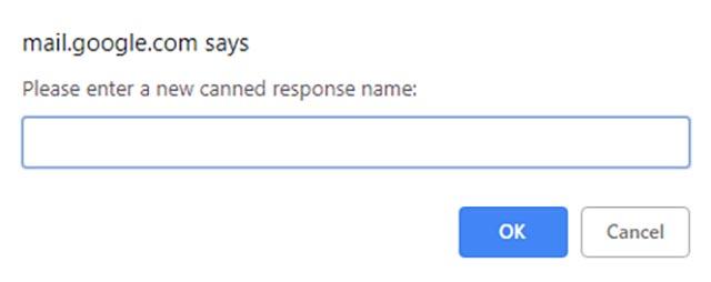 ردود Gmail المعلبة