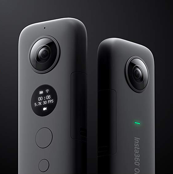 GoPro fusion Alternatives insta360 one x
