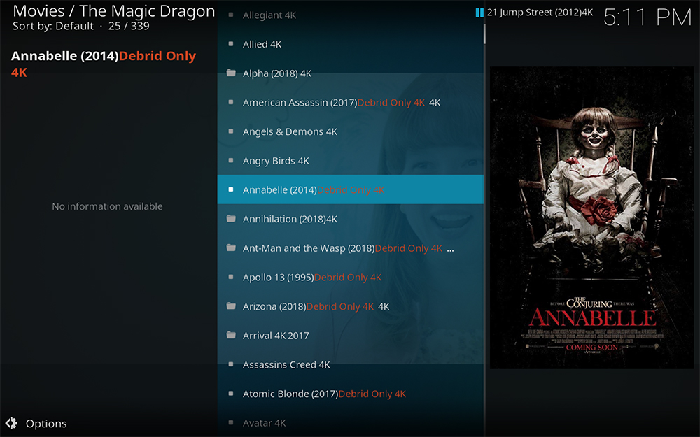 Kodi add-on add-ons addon addons magic dragin radio 4k