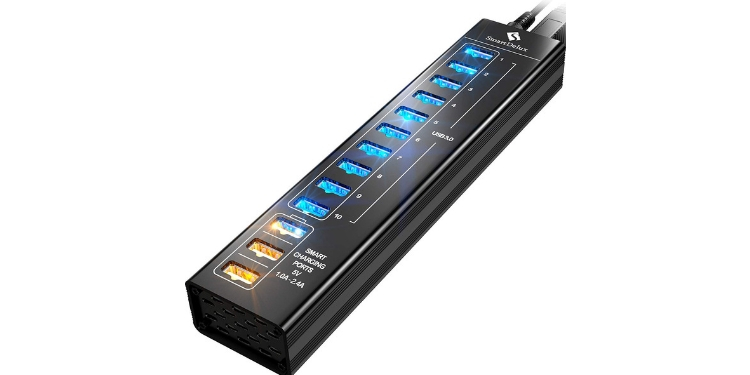 SuperDelux 13-port USB Hub