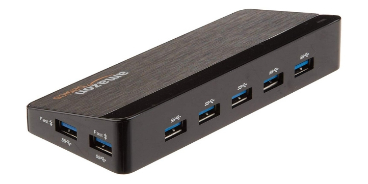 amazonbasics 7 port usb hub
