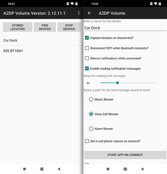 Open Source Android Apps a2dp volume