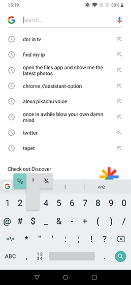 Cool Android Shortcuts gboard