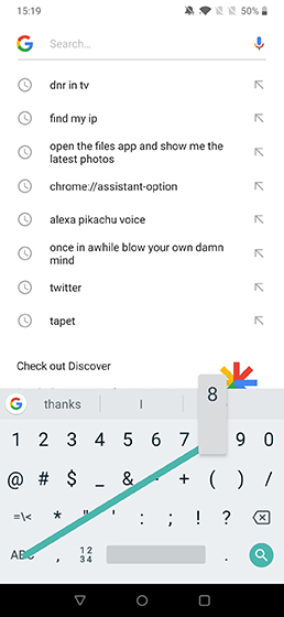 gboard Cool Android Shortcuts