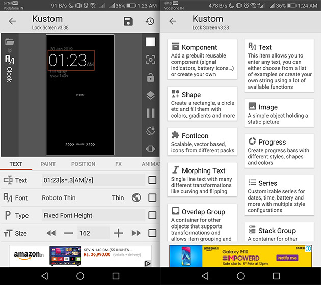 Lock Screen Replacement Apps for Android klck