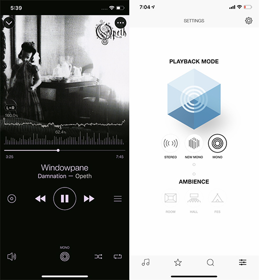 iPhone Music Player Apps monaural