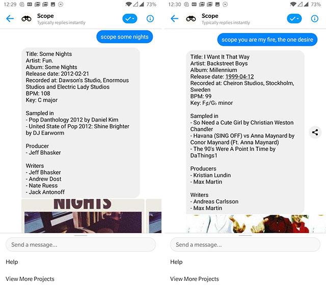 scope messenger bot screenshot