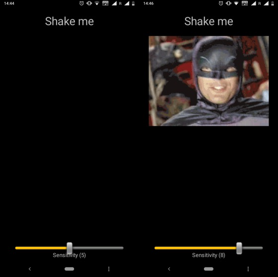 shake me fun android app