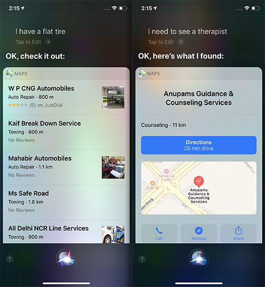 Siri Tricks for iOS 12 and macOS Mojave nearby