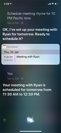 Siri Tricks for iOS 12 and macOS Mojave