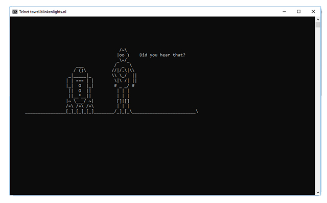 Command Prompt Tricks star wars