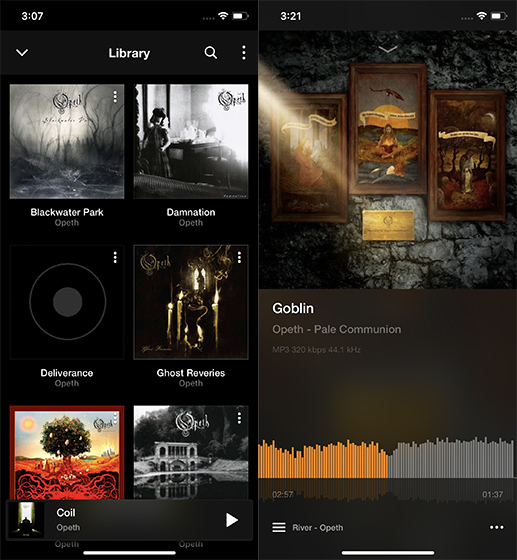 iPhone Music Player Apps vox