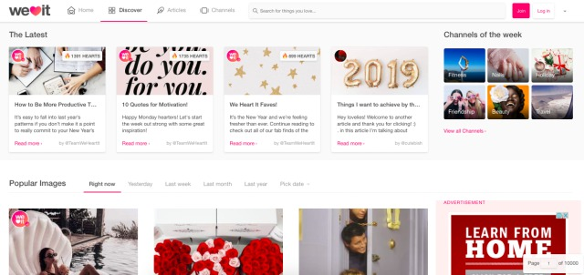 weheartit pinterest alternative