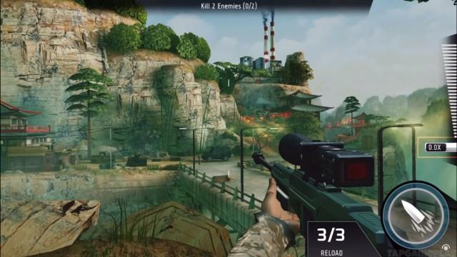 Game Perang Offline Terbaik Android Kill Shot Bravo