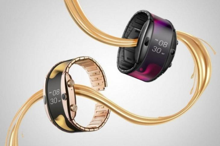 Nubia Alpha smartphone wearable launched