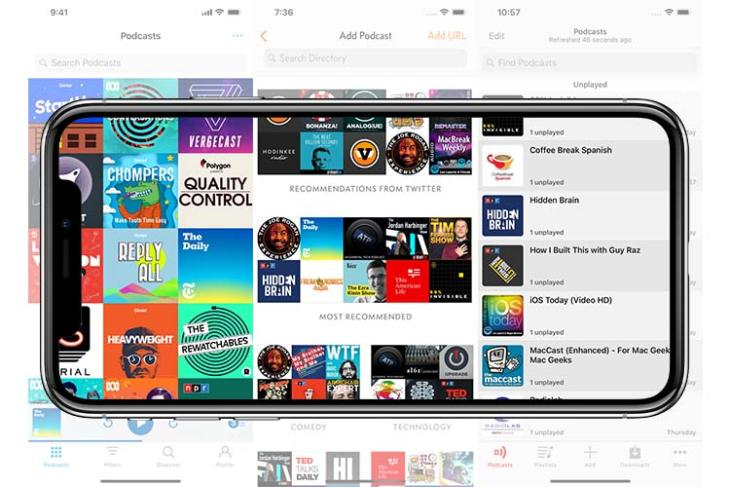 best podcast apps iphone 2019