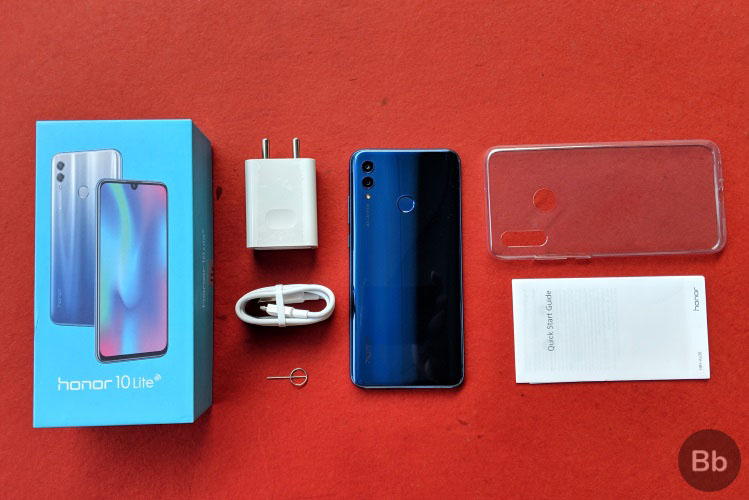 Honor 10 Lite: What's in the Box