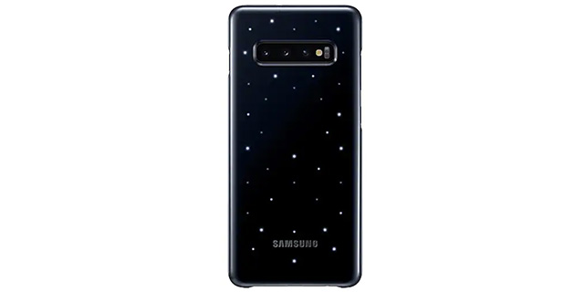galaxy s10 plus led back cover
