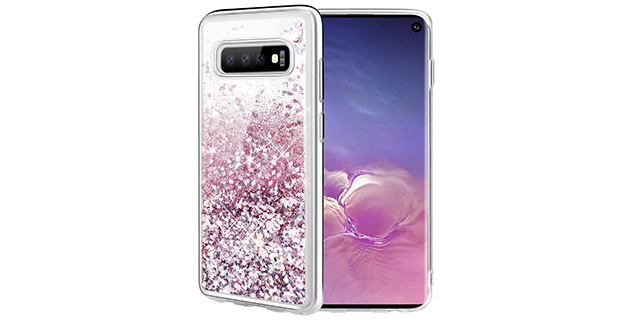 glitter case galaxy s10