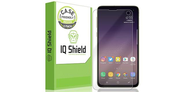 iqshield liquidskin screen protector galaxy s10e