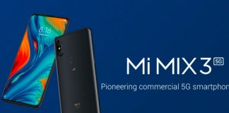 mi mix 3 5G variant launched at MWC 2019