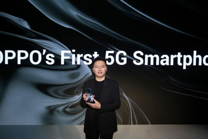 oppo first 5G smartphone