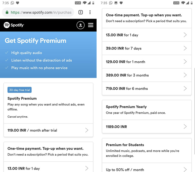 Here's Why You Shouldn't Switch to Spotify in India Right