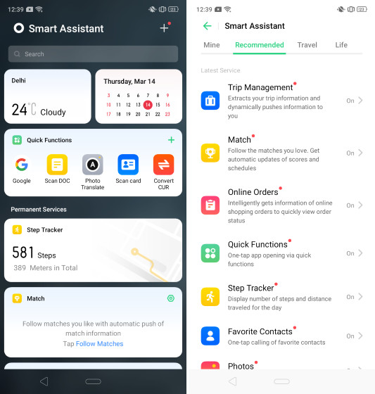 10. Redesigned Smart Assistant