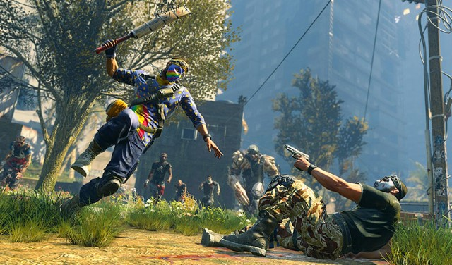 3. Dying Light Bad Blood Battle Royale