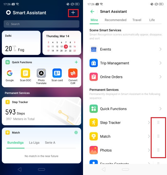 3. Manage the Smart Assistant Page