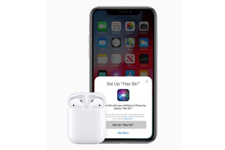 Apple Airpods 2 announced