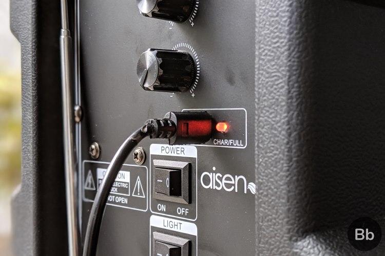 aisen b600 charging