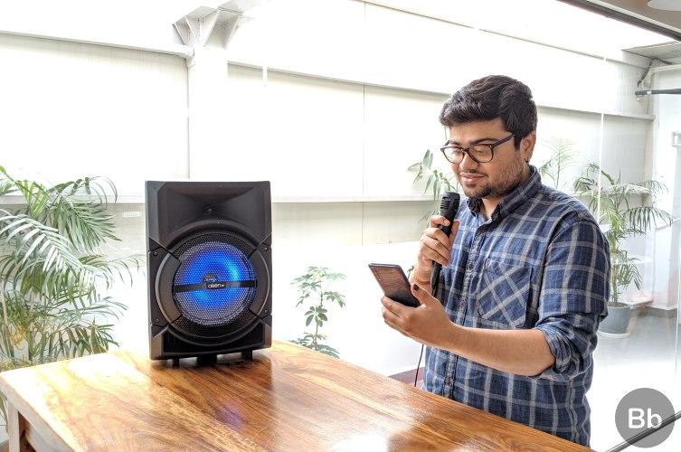 aisen b600 karaoke