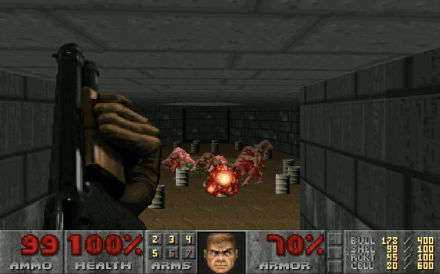 doom offline shooter game android