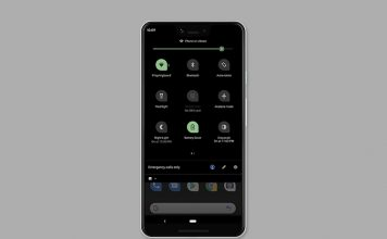 enable dark mode android q