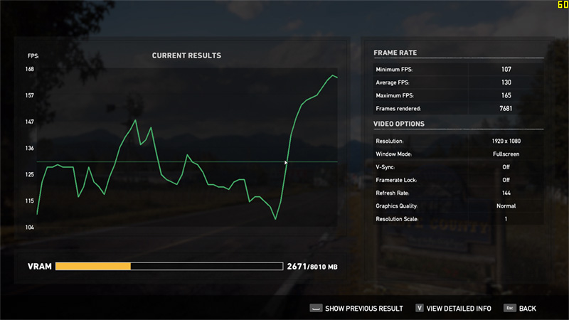 farcry5 benchmark normal