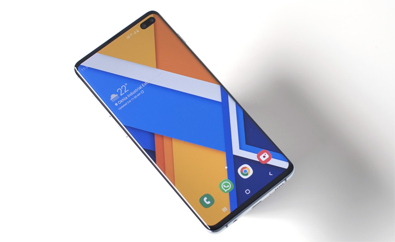 galaxy s10 plus display image