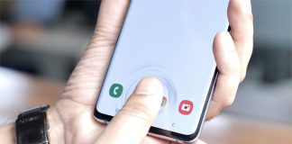 galaxy s10 plus fingerprint scanner image