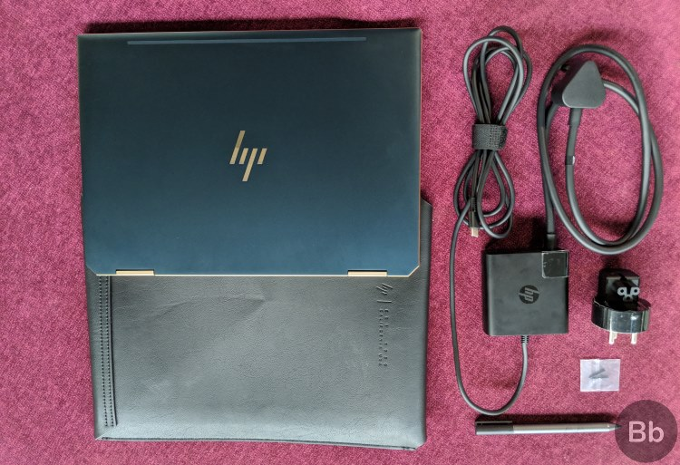 hp spectre what's in the box