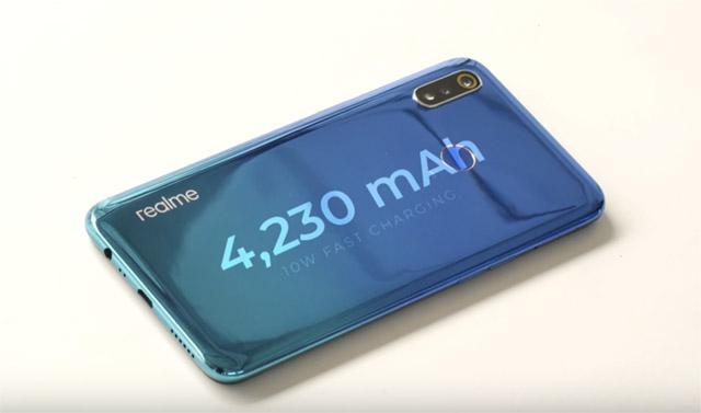 realme 3 battery image