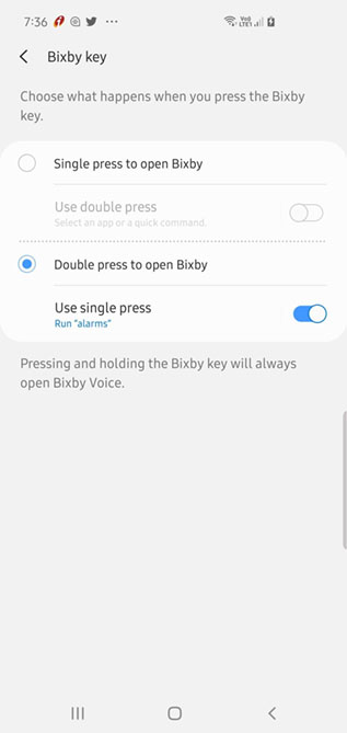 remap bixby key