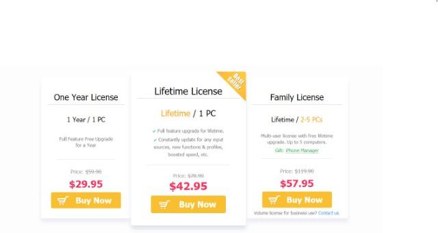 video proc pricing