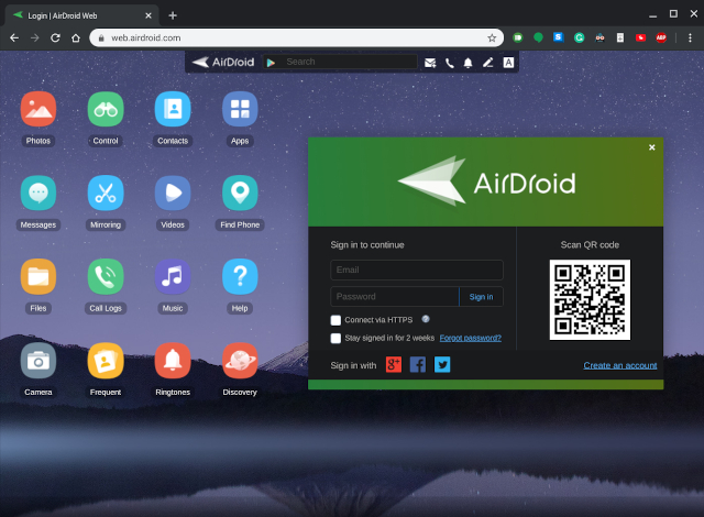 1. AirDroid