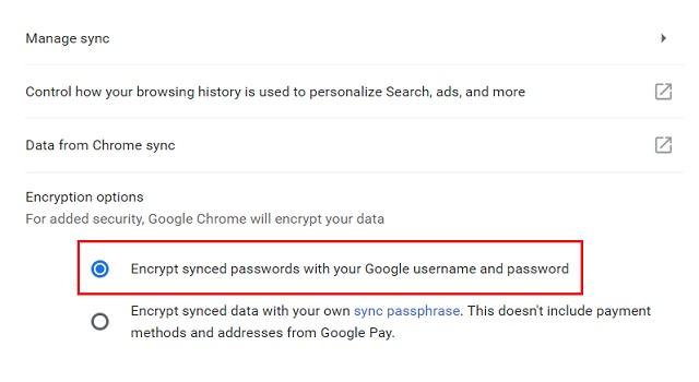 2. Encrypt Your Data