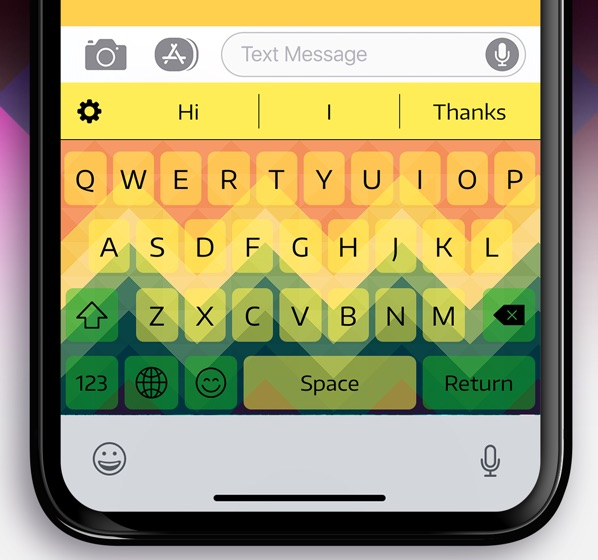 5. Color Keyboard