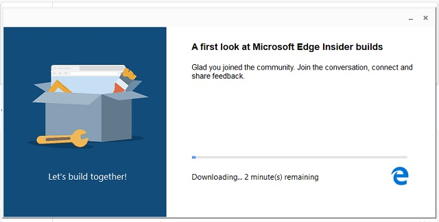 Download Chromium-powered Microsoft Edge 2