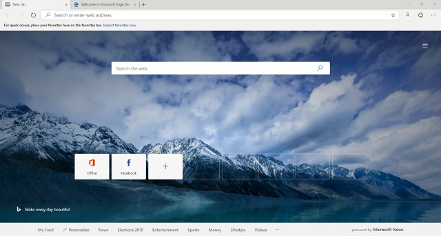 Download Chromium-powered Microsoft Edge 3