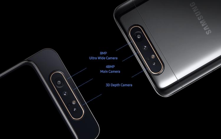 Galaxy A80 Cameras