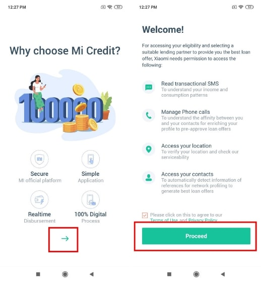 How to Use Mi Credit 2